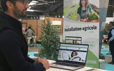 JA Nouvelle-Aquitaine fait la promotion de installation-agricole.com à Capr'inov !